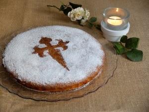 recepta tarta de Santiago