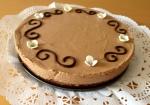 Pastís de tres textures de xocolata