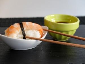 Com preparar nigiri de llagostins
