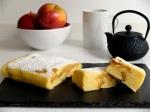 pastís de poma al microones