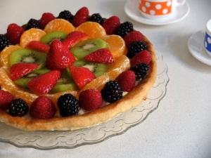 Crema amb fruites